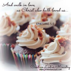 Lessons from a Cupcake:  Devotional by Julia Bettencourt  #womensministry  #ladiesministry