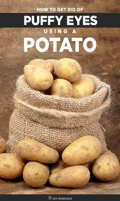 How to use Potato for Puffy Eyes    There are many ways of using potato for treating puffy eyes but here we explained a few effective methods. All you need is to follow them regularly without any interruption.    #PuffyEyes #potato #NaturalBeauty