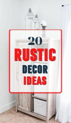 Brilliant Rustic Home Design #rustic #rustichomedecor Rustic Home Design, Diy Rustic Decor, Rustic Theme, Diy Home Decor, House Design, Decoration, Pretty, Top, Inspiration