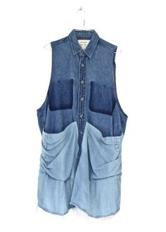 Colorblock Denim Smock #2 by STATE