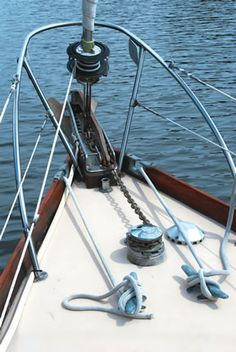 Sealing Anchor Chain Spill Pipes - Practical Sailor Article