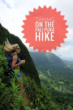 Pali Puka Hike on Oahu. One of the most dangerous hikes on the island. Read it you're going to take this hike on!