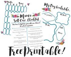 Mama Self-Care Free Printable!