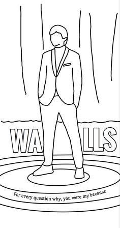 Outline Drawings, Art Drawings Sketches, Cool Drawings, One Direction Art, One Direction Drawings, Coloring Pages To Print, Free Coloring Pages, Coloring Books, Louis Tomlinson