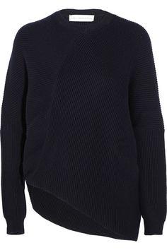 STELLA MCCARTNEY Ribbed Wool Sweater. #stellamccartney #cloth #knitwear