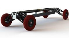 Gila Board brings independent suspension to off-road skateboarding