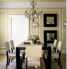 Crown molding and wall trim