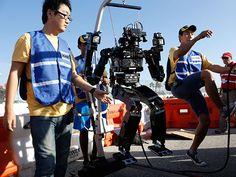Live From the DARPA Robotics Challenge