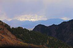 Twilight Thunderstorm At Black Canyon, Colorado
