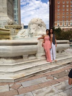 Niagara Square photo shoot featuring Jimmylee designs, accessories by Vania and David