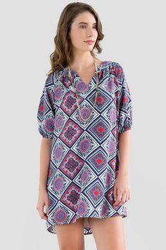 http://www.francescas.com/product/alondra+printed+dress.do  Francescas ALONDRA PRINTED DRESS $48.00 Size: Small