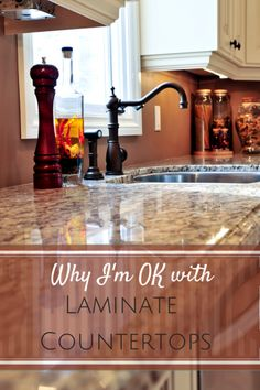 Why I've come to terms with my laminate countertops- and what I'm getting instead of granite.