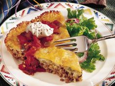 Taco Pie KISS (keep it simple supper)  from BE (bariatric eating)  I am making this!!