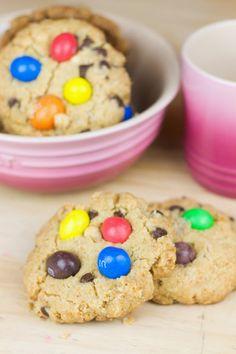 Objetivo: Cupcake Perfecto.: Receta express para cookies sin huevo (y con M&M's!)