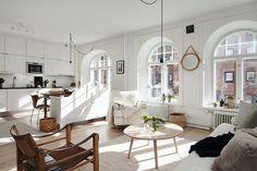 """Magical 2 bedroom apartment at Plantagegatan 13. Styled by Team @sarahwidman  #alvhem #alvhemmakleri #teamsarahwidman"""