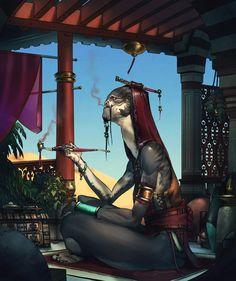 The merchant by David Sequeira, via Behance