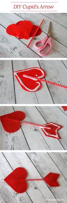 DIY Cupids Arrow |