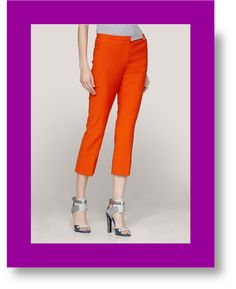 "Move over Theory...DVF is the new ""pant sheriff"" in town!"