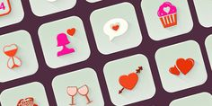 Here is a nice set of 20 icons for Valentine's day.  All these 3D icons are have...