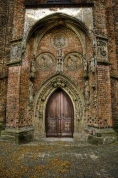 St Marie Church Portal, Frankfurt an der Oder.