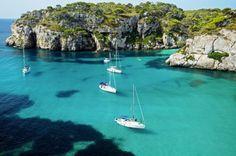 Las mejores calas... - TELVA  Cala Macarella Menorca