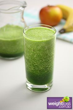 Sweet Green Smoothie . #HealthyRecipes #DietRecipes #WeightLossRecipes weightloss.com.au