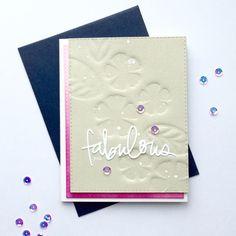 Falling Into Cardmaking blog. Fabulous Card. #EllenHutsonLLC #EssentialsbyEllen #PinSightsChallenge #TotallyFabulous Card Sketches, Cardmaking, Blog, Greeting Cards, Paper Crafts, Fall, Handmade, Autumn, Hand Made