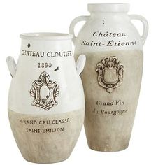 French Country decor really is timeless—it simply never goes out of style. Crafted and painted by hand, our earthenware vases are an homage to this classic design aesthetic. Group them together in your entryway, kitchen or living room, and add faux florals for a fresh-from-the-French-garden look.