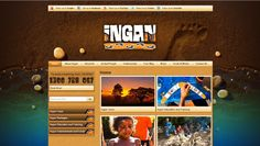 The Ingan website was designed to carry the strong indigenous look and feel of the business and the tours. Textured sand, rounded stones, cool clean water ~ earthy elements were used to represent the taste of indigenous culture that Ingan offers, and the spiritual connection they have with their land, creeks and rain forests. The vibrant imagery and photographs featured throughout the branding captures the heart and spirit of the authentic tours and cultural activities. Spiritual Connection, Design Development, Forests, Earthy, Online Marketing, Vibrant, Jade, Web Design, Stones
