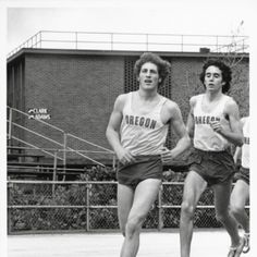Don Clary & Alberto Salazar, 1977