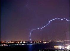 Lightning strikes New Jersey again!