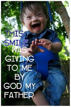 My smile.