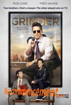 Autre nouveauté de cette rentrée séries vue par Marine Sialelli , The Grinder!