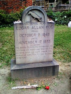 Edgar Allan Poe's Grave Site, Baltimore, Maryland