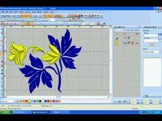 Digitizing Embroidery Digitizing, Sewing Machine Embroidery, Embroidery Software, Embroidery Machines, Hand Embroidery Flowers, Embroidery Art, Embroidery Patterns, Sewing Patterns, Sewing Hacks