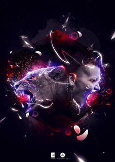 La Fuerza de la alucinación Fierce  Création sur le thème Féroce pour le Pulse VII Hybrid qui comprend d'autres créations faites dans le cadre du concours TEN par Fotolia où le collectif compte deux membres vainqueurs
