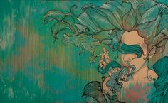 Brandon Boyd of Incubus   not just an amazing singer, but also a great artist