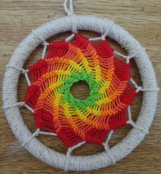 Mandalas Olho de Deus: Mandala em Espiral