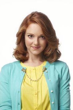 Emma Pillsbury// i really like those sweater chains she wears.