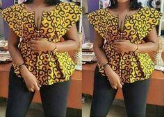 Africain impression top africaine vêtements africaine en Wax
