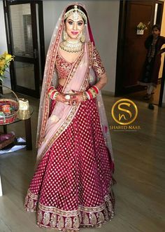 Browse Band Baaja Bride With Sabyasachi for women. Find trending collection of Lehengas, Clutch Bag, Saree, Lehenga. Get the latest updates of Sabyasachi Mukherjee dresses at Happy Shappy. Indian Bridal Photos, Indian Bridal Outfits, Indian Bridal Fashion, Indian Dresses, Bridal Dresses, Indian Clothes, Wedding Photos, Wedding Lehnga, Indian Bridal Lehenga