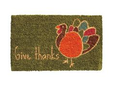 Greet your guests with the spirit of the holiday. #Thanksgiving #hgtvmagazine http://www.hgtv.com/holidays-and-entertaining/fun-and-easy-thanksgiving-ideas/pictures/page-12.html?soc=pinterest