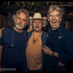 Bobby,  Dickey, Phil