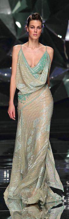 Allure! Designer Gown Fashion Dress Abed Mahfouz