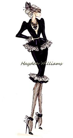 by Hayden Williams. Fashion illustration. Sketch. Art.