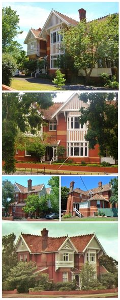 Eildon, Hamilton, was built as a residence and surgery for Dr David Laidlaw in - Landhaus Australian Architecture, Australian Homes, Melbourne Victoria, Victoria Australia, Facade House, House Facades, Country Farm, Country Houses, Hamilton
