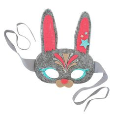 Every bunny will ooh and aah over your one-of-a-kind forest friend mask. Recommended for ages 4-6 Free Shipping! (Orders over $50) - Felt mask - Craft Glue - Glitter Glue - Assorted Felt Sheets - Felt