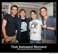 they're all actually pretty sexy, tbh. harry potter humor