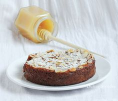 Bizcocho de miel y manzana (sin gluten) - Dulces bocados