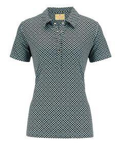 Look what I found on #zulily! Seaspray Haley Cool Short-Sleeve Polo - Women by Sport Haley #zulilyfinds